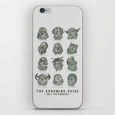The Grooming Guide iPhone & iPod Skin