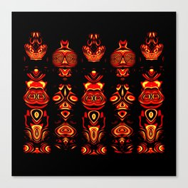 Tribal Totem Canvas Print