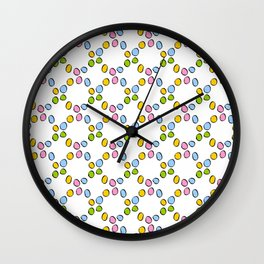 Circle and abstraction 3-,abstract,geometric,geometrical,circle,sphere Wall Clock