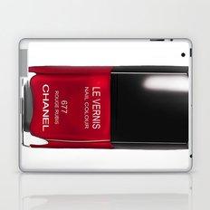 Nail Polish Rouge Rubis Laptop & iPad Skin