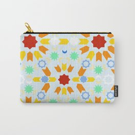 Winter Arabesque Carry-All Pouch