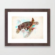 Tortuga Framed Art Print