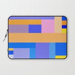 Blue Yellow Orange Pattern Laptop Sleeve
