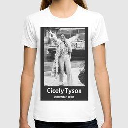 Vintage Retro Cicely Tyson T-shirt
