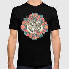 bengal mandala Black MEDIUM Mens Fitted Tee
