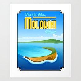 Landmarks of Life™: Molokini, Maui Art Print