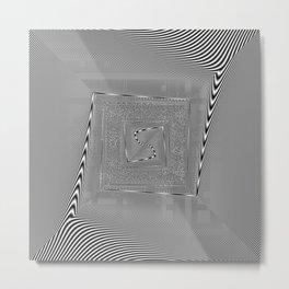 moire patterns Metal Print