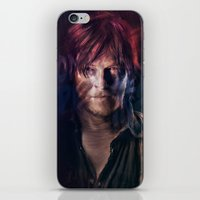 daryl iPhone & iPod Skins featuring Daryl Dixon by Guilherme Marconi