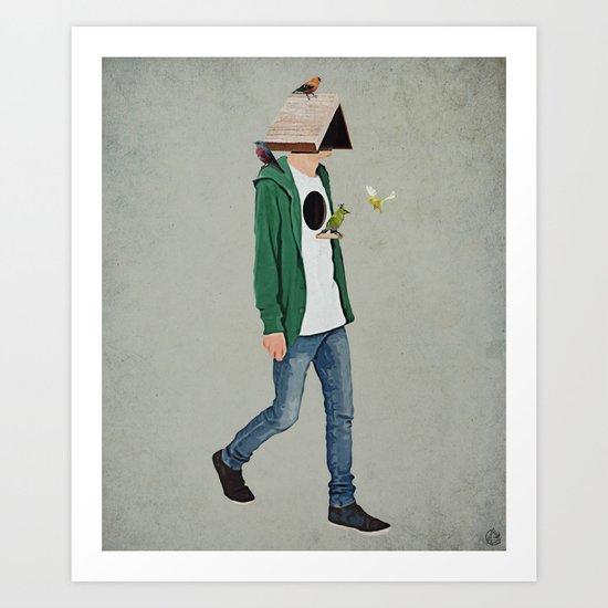 Identity crisis 2 Art Print