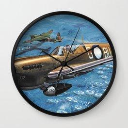 Curtiss P-40 Warhawk Wall Clock