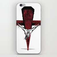 jesus iPhone & iPod Skins featuring Jesus by Robert Cooper