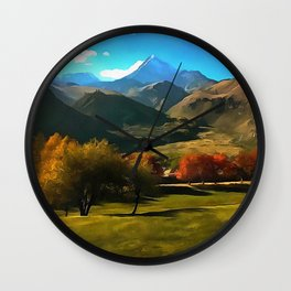 Kazbek Wall Clock