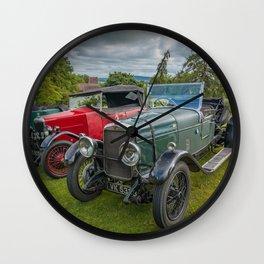 Classic Cars 1930 Wall Clock