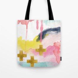 Three Wisemen Abstract Tote Bag