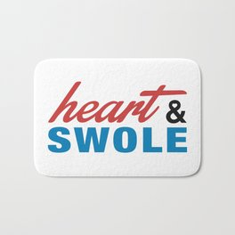 Heart & Swole Bath Mat