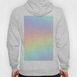 Holographic geometric vector background. 80s and 90s fashion design Hoody