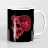 ram Mugs featuring Damn Ram by Josh Ln