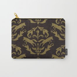 Fox Damask Carry-All Pouch