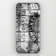 Jack Daniel - Vintage Wiskey iPhone & iPod Skin