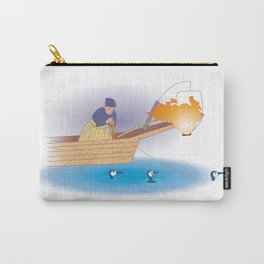 Japanese Cormorant fishing Carry-All Pouch