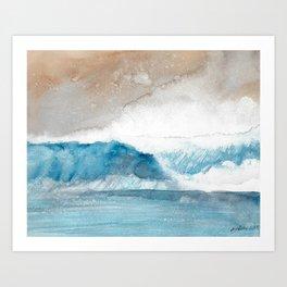 Sea Spray Art Print