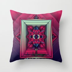 Red Room Throw Pillow