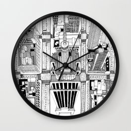 Empire State Wall Clock