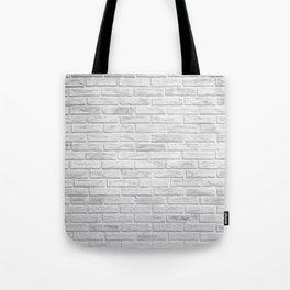 White Brick Tote Bag