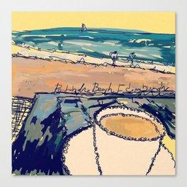 Portobello Beach Canvas Print