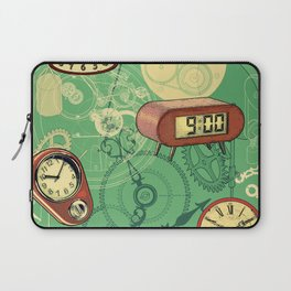 TIC TAC TIME Laptop Sleeve
