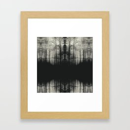 The Lurking Fear II Framed Art Print
