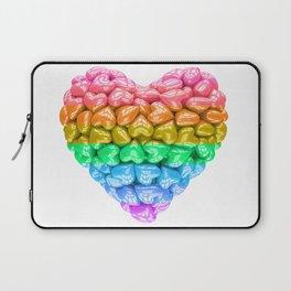 LGBT Heart, LGBT pride, LGBT pride heart, LGBT Wedding gift, Love poster, Love heart, Love forever Laptop Sleeve