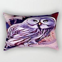 The Great Grey Owl Rectangular Pillow
