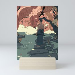 Tell a Dragon Colorful Stories part 2 Mini Art Print