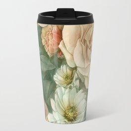 Floral rose pattern Travel Mug