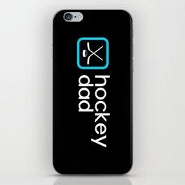 Hockey Dad (Blue) iPhone Skin