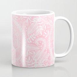 Medallion Pattern in Blush Pink Coffee Mug