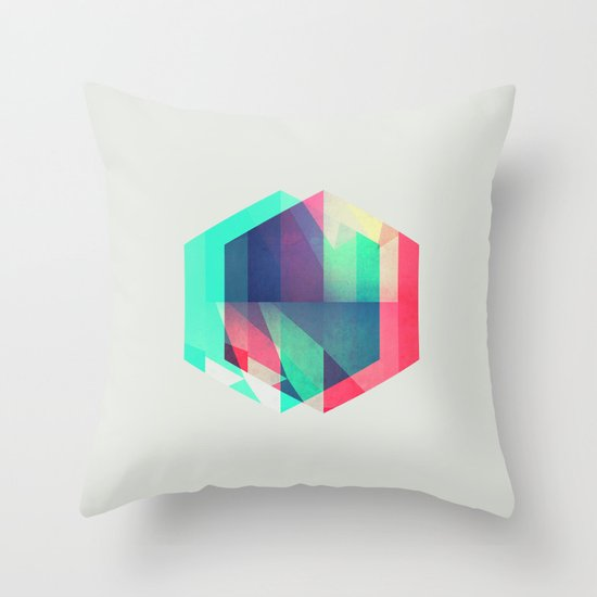 hyx^gyn Throw Pillow