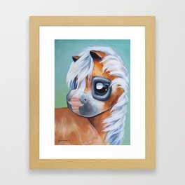 Haflinger Beauty Framed Art Print