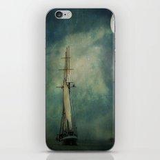 Sail away into the night iPhone & iPod Skin