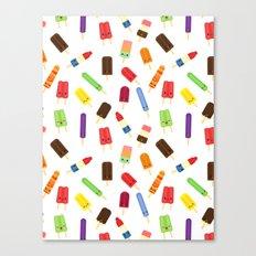 Popsicles Canvas Print