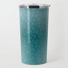 Triangular Cool Blues Travel Mug