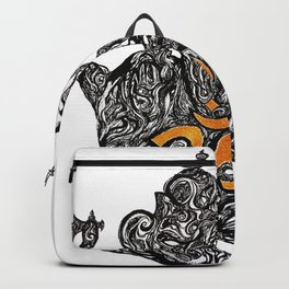 Blessing from Lord Ganesha Backpack