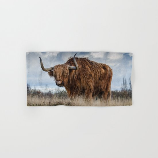 Bull animal 4 Hand & Bath Towel