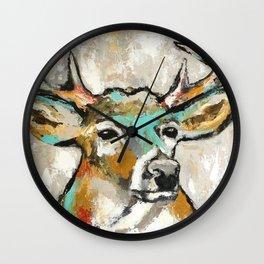 Buck, Deer Wall Clock