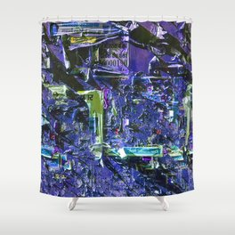 Abstract Vision IV Shower Curtain