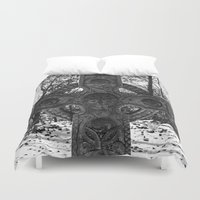celtic Duvet Covers featuring Celtic by Kendall Brier