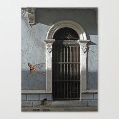 Old Town Doorway Canvas Print