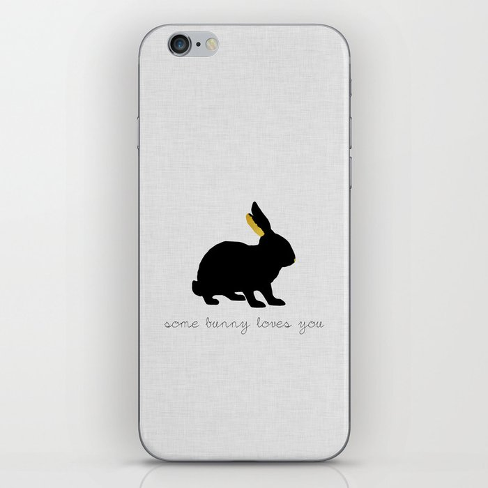 Some Bunny Loves You iPhone Skin