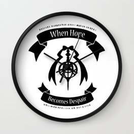 "Madoka Magica - ""When Hope Becomes Despair"" Ver.1 Wall Clock"